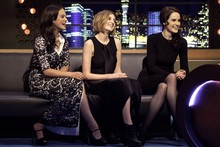Downton Abbey sisters get glam makeovers for Jonathan Ross show