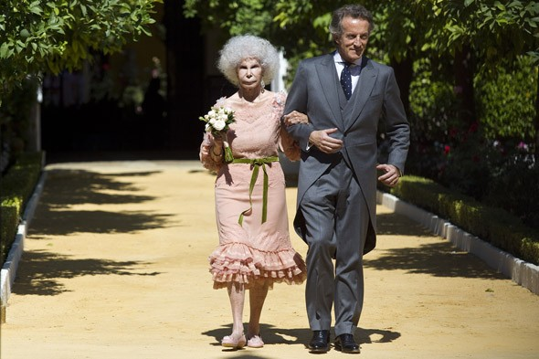 The Duchess of Alba & Alfonso Diez