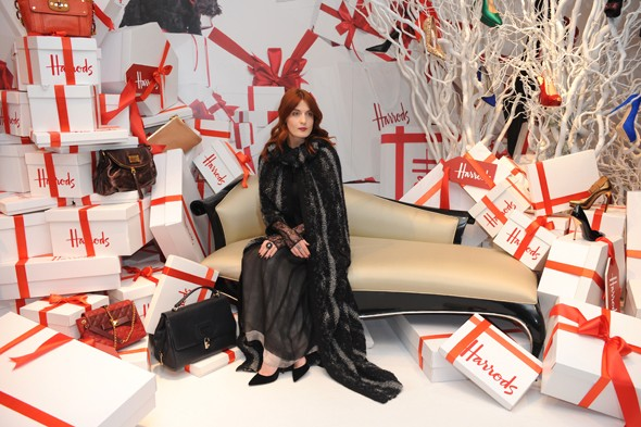 Florence Welch Opens Harrods 2011 Sale