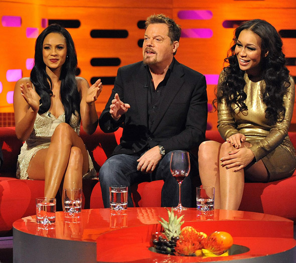Alesha Dixon and Rebecca Ferguson sparkle on Graham Norton Show