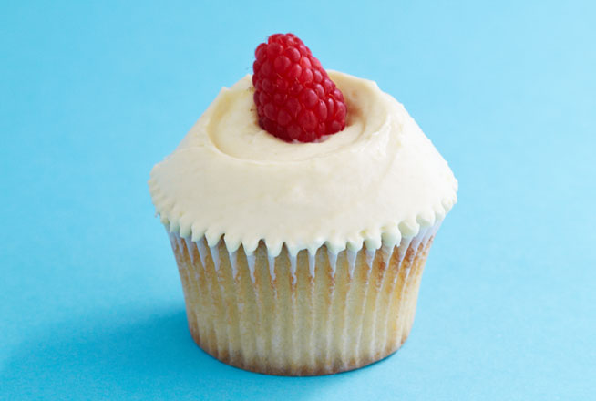 Raspberry Trifle Cupcake - Saturday