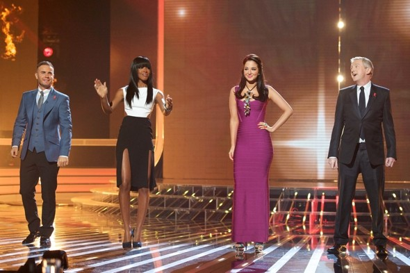 X Factor: Saturday, Week Nine