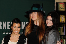 Assorted Kardashians attend a book signing - does the stylist hate them?