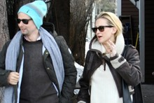 Cool: Kate Hudson's ski resort snow style