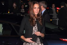 Kate shows off her pins (and her love of high street fashion) at Prince's Trust concert
