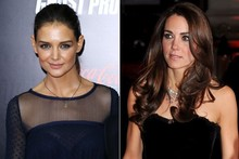 Beauty look of the week: Katie Holmes vs Duchess Kate