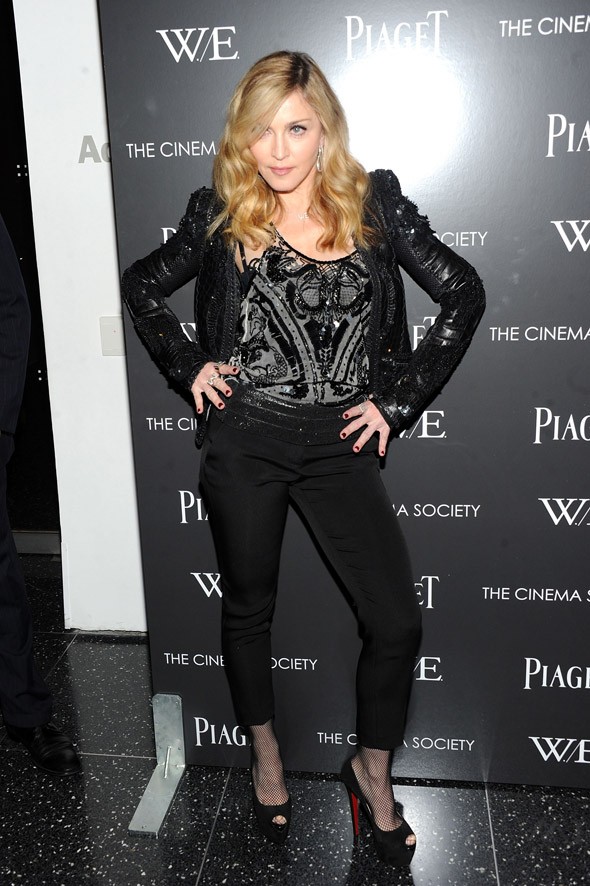 Hot or not: Madonna attends W.E. screening in all black
