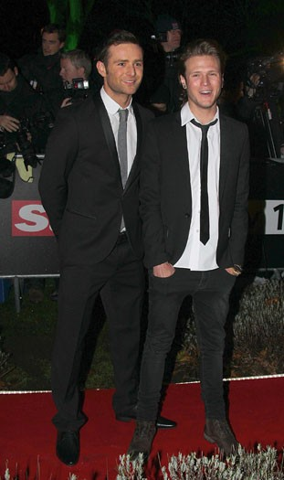 Harry Judd and Dougie Poynter