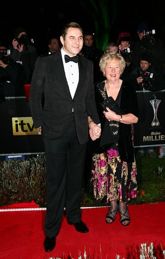 David Walliams and mother Kathleen