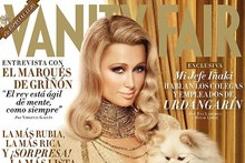 Paris Hilton covers Vanity Fair Spain