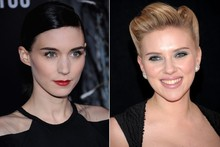 Beauty look of the week: Rooney Mara vs Scarlett Johansson