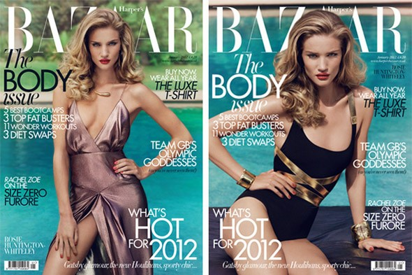 Rosie Huntingdon-Whiteley is The Body of 2012