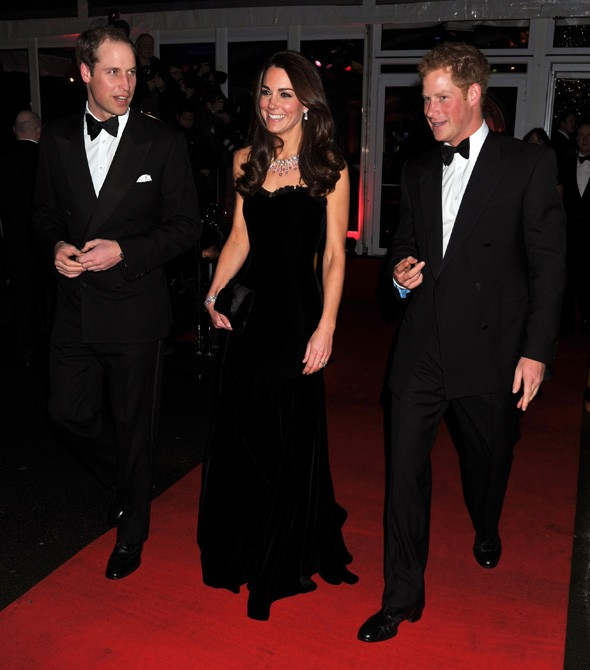 Wills & Kate, the Beckhams, Little Mix, TOWIE crew attend Military Awards
