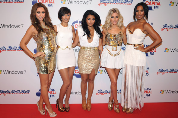 Una shows off baby bump as Saturdays take to the Jingle Bell Ball stage