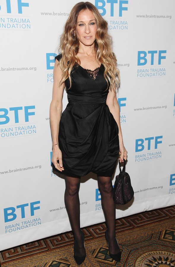 Sarah Jessica Parker at the Brain Trauma Foundation dinner