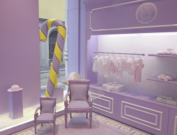 Versace opens first children's clothing store in Milan