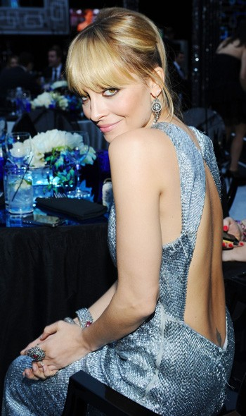 Nicole Richie at the NBC Universal party