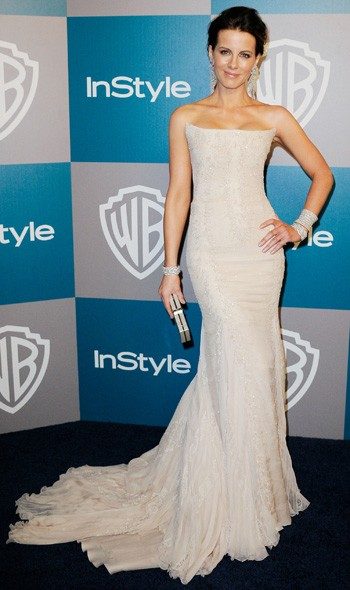 Kate Beckinsale at the InStyle/Warner Bros party