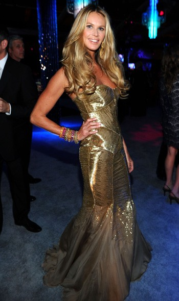 Elle Macpherson at the NBC Universal party