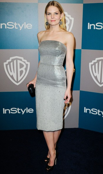 Jennifer Morrison at the InStyle/Warner Bros party