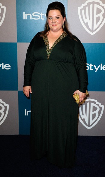 Melissa McCarthy at the InStyle/Warner Bros party