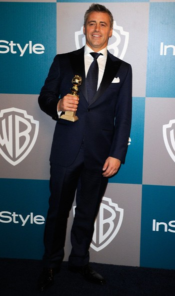 Matt LeBlanc at the InStyle/Warner Bros party