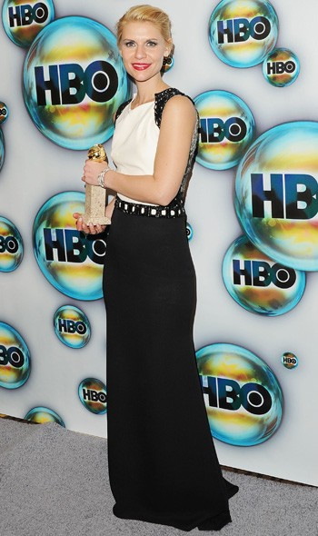 Claire Danes at the HBO party