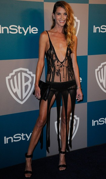 Erin Wasson at the InStyle/Warner Bros party
