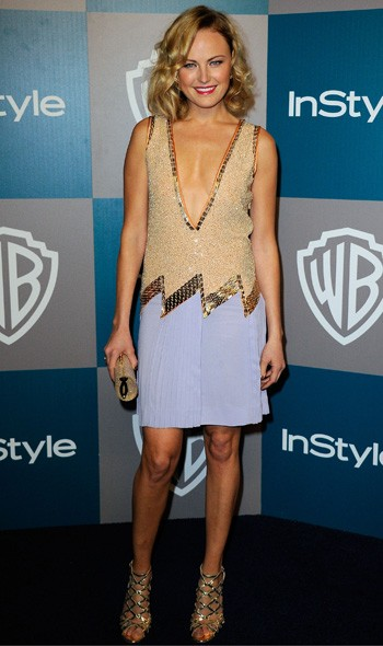 Malin Akerman at the InStyle/Warner Bros party