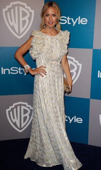 Rachel Zoe at the InStyle/Warner Bros party