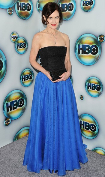 Elizabeth McGovern at the HBO party