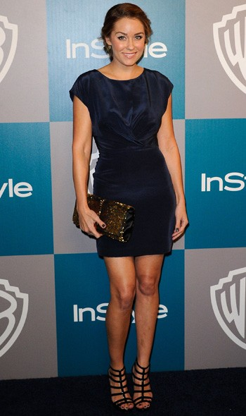 Lauren Conrad at the InStyle/Warner Bros party