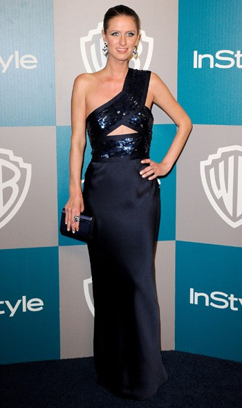 Nicky Hilton at the InStyle/Warner Bros party