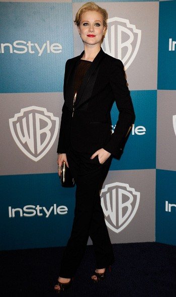 Evan Rachel Wood at the InStyle/Warner Bros party