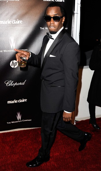 Sean 'P-Diddy' Combs at The Weinstein Company party