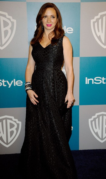 Maya Rudolph at the InStyle/Warner Bros party