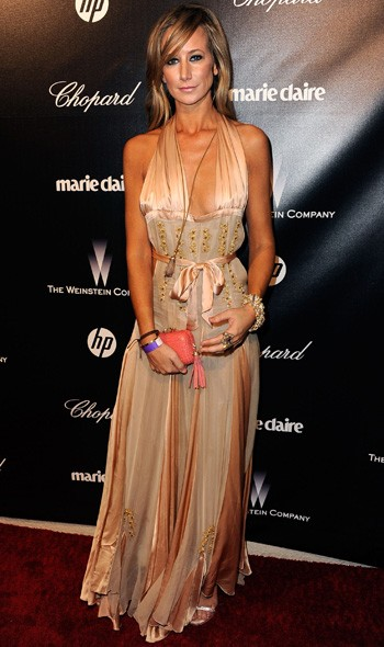 Lady Isabella Hervey at The Weinstein Company party