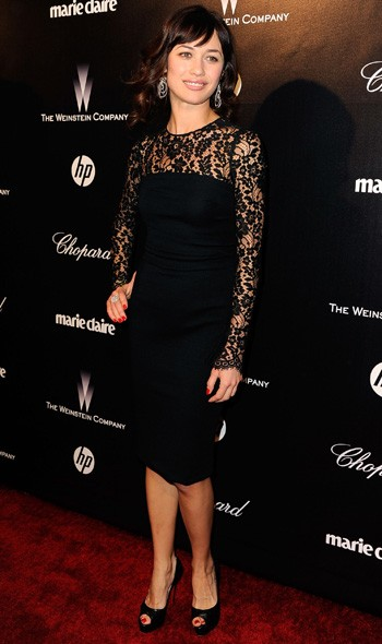Olga Kurylenko at The Weinstein Company party