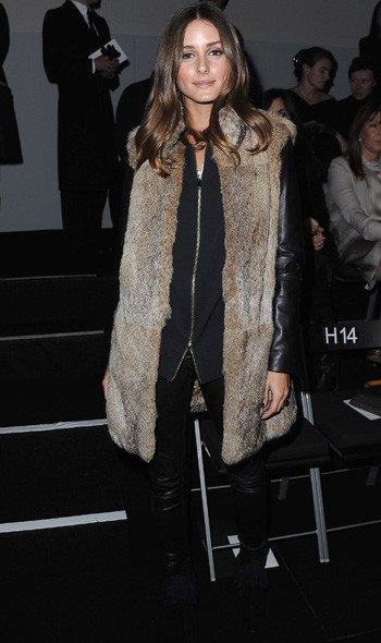 Olivia Palermo at Armani Prive