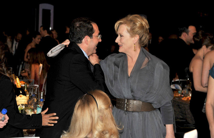 Michael Barker and Meryl Streep