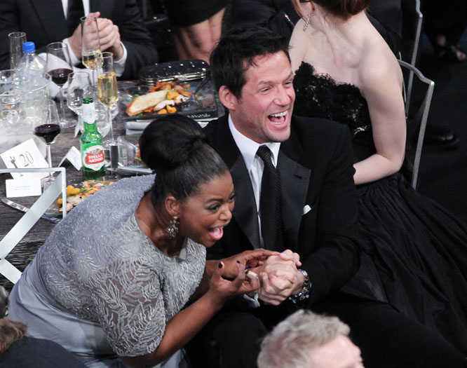 Octavia Spencer and Josh Hopkins