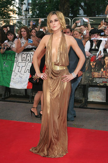 Pirates of the Caribbean II - Dead Man's Chest premiere in London, 2006