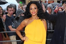 Alesha Dixon is leggy in yellow at first Britain's Got Talent auditions