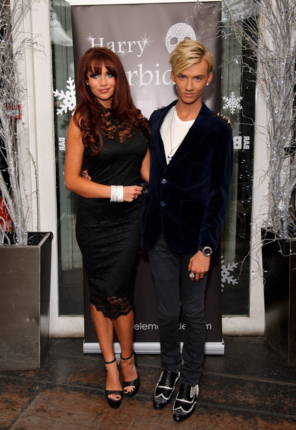 Harry TOWIE launches jewellery range - Amy Childs attends (natch)