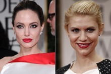 Beauty look of the week: Angelina Jolie vs Claire Danes