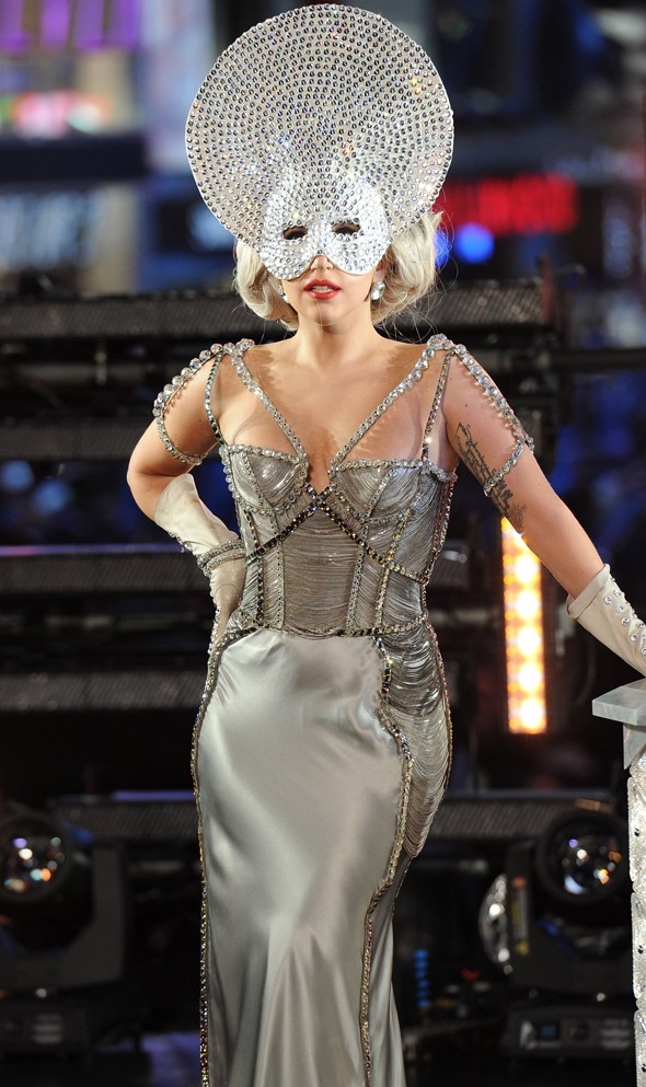 Lady Gaga headlines star-studded New Year's Eve celebrations Stateside