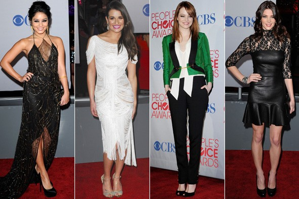 People's Choice Awards best dressed: Vanessa Hudgens, Lea Michele, Emma Stone and Ashley Greene