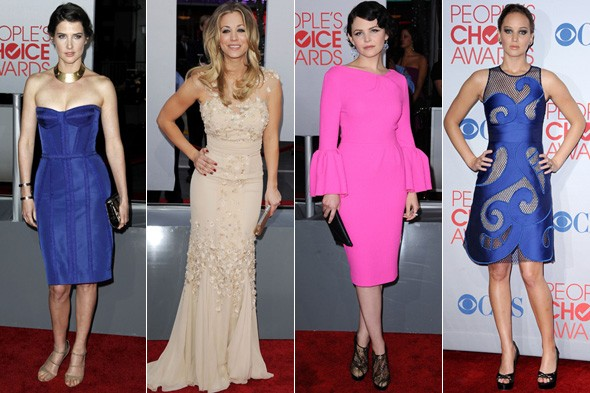 People's Choice Awards best dressed: Colbie Smulders, Kayley Cuoco, Ginnifer Goodwin and Jennifer Lawrence