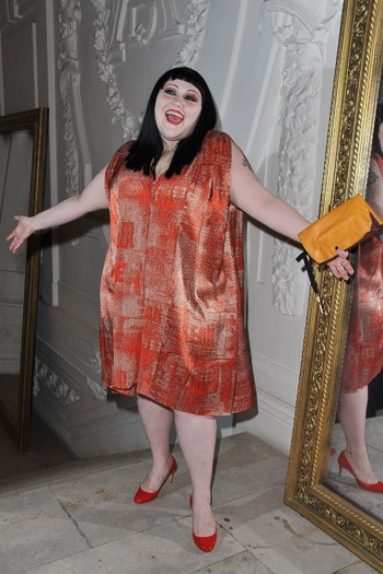 Beth Ditto at Jean Paul Gaultier