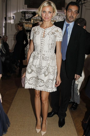 Cameron Diaz at Valentino
